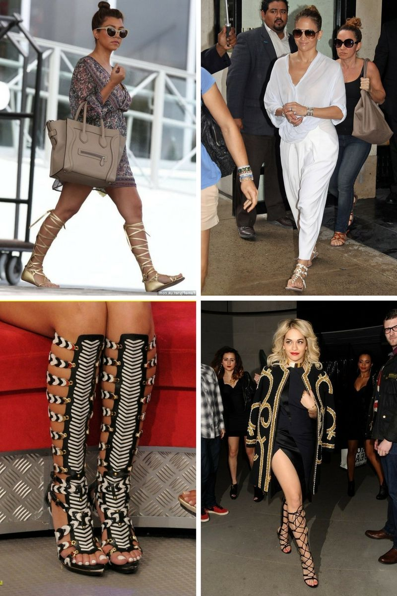 c2bdb280b896 High Gladiator Sandals Are Back In Style 2019 - OnlyWardrobe.com
