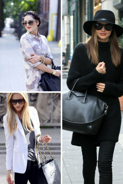 How To Style Black Bag In 2018 (11)