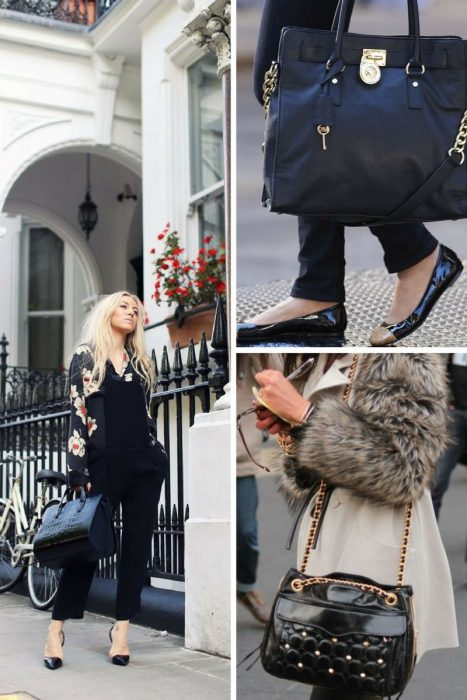 How To Style Black Bag In 2018 (12)