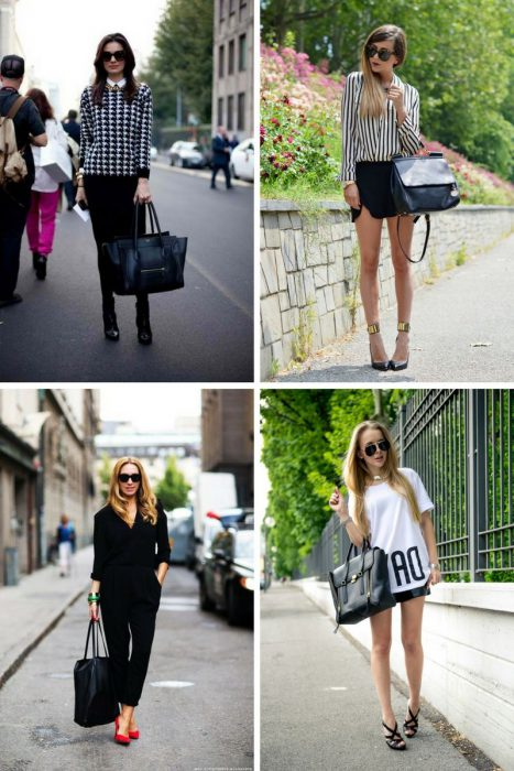 How To Style Black Bag In 2018 (16)
