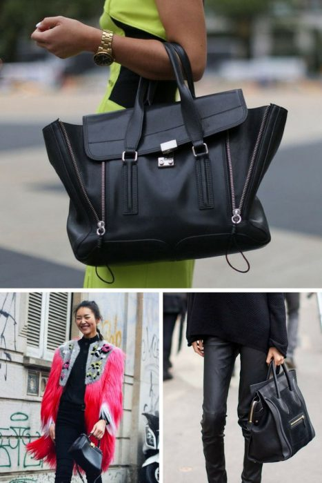 How To Style Black Bag In 2018 (2)