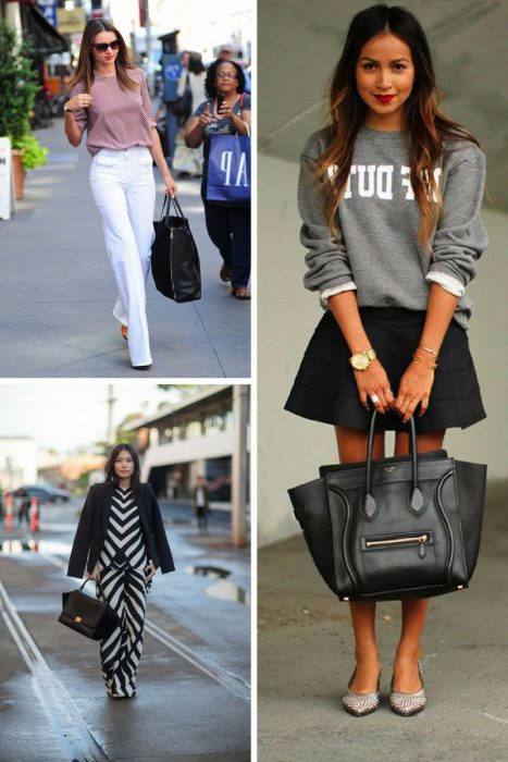 How To Style Black Bag In 2018 (3)