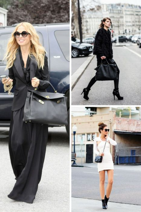 How To Style Black Bag In 2018 (4)
