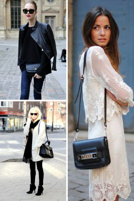 How To Style Black Bag In 2018 (8)