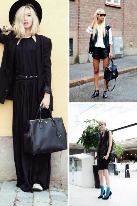 How To Style Black Bag In 2018 (9)