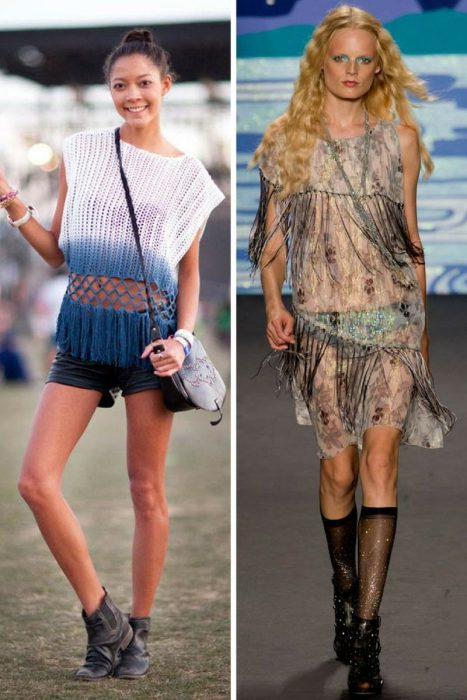 Fringed Clothes And Accessories For Women 2019