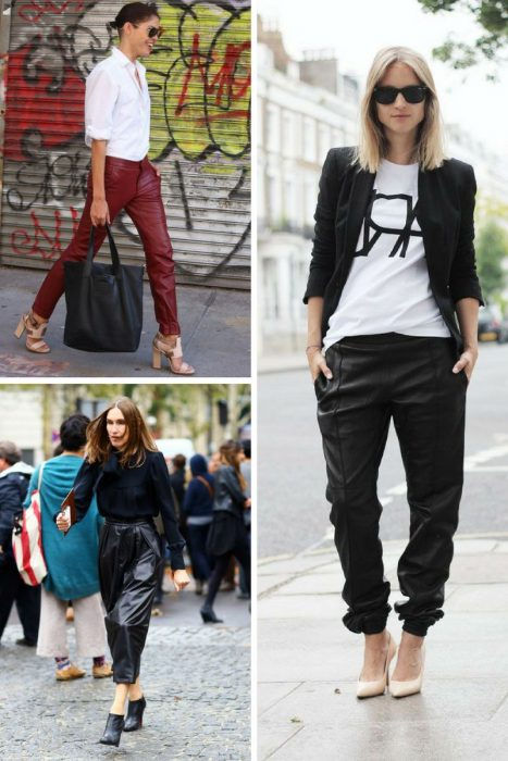Leather Pants Trend For Women 2018 (12)