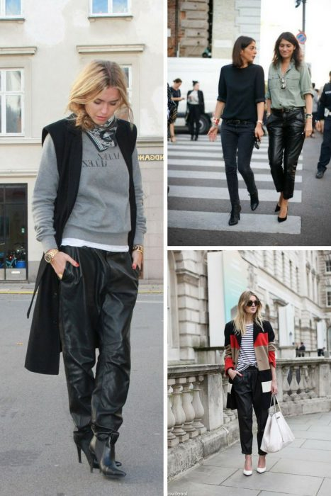Leather Pants Trend For Women 2018 (13)