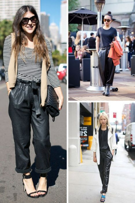 Leather Pants Trend For Women 2018 (2)