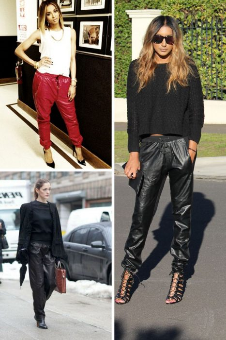 Leather Pants Trend For Women 2018 (3)