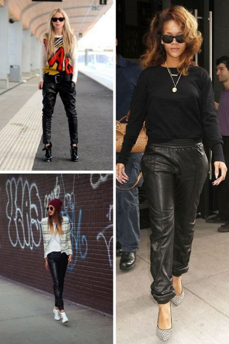 Leather Pants Trend For Women 2018 (7)