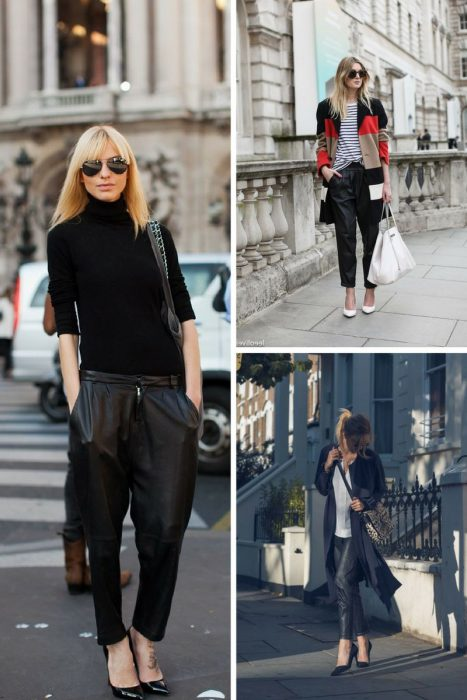 Leather Pants Trend For Women 2018 (8)