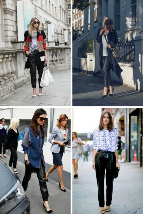 Leather Pants Trend For Women 2018 (9)