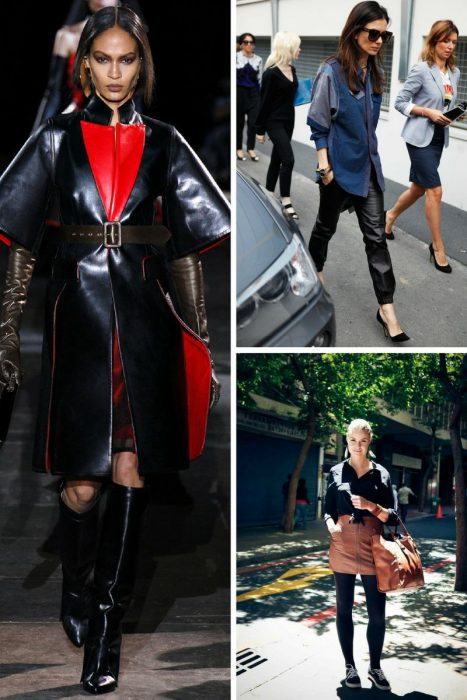 Winter Leather Clothes Trend For Women 2019