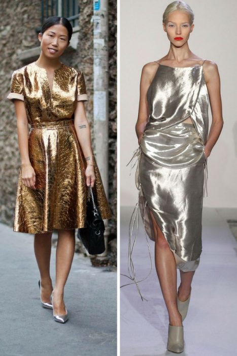 Metallic Trends For Summer 2018 (1)