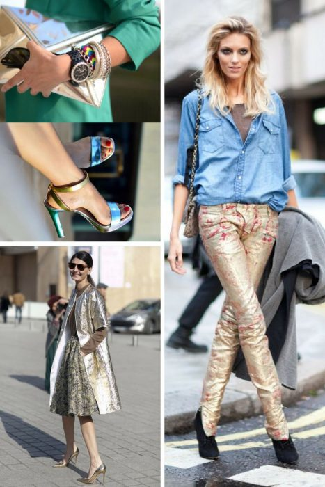 Metallic Trends For Summer 2018 (3)