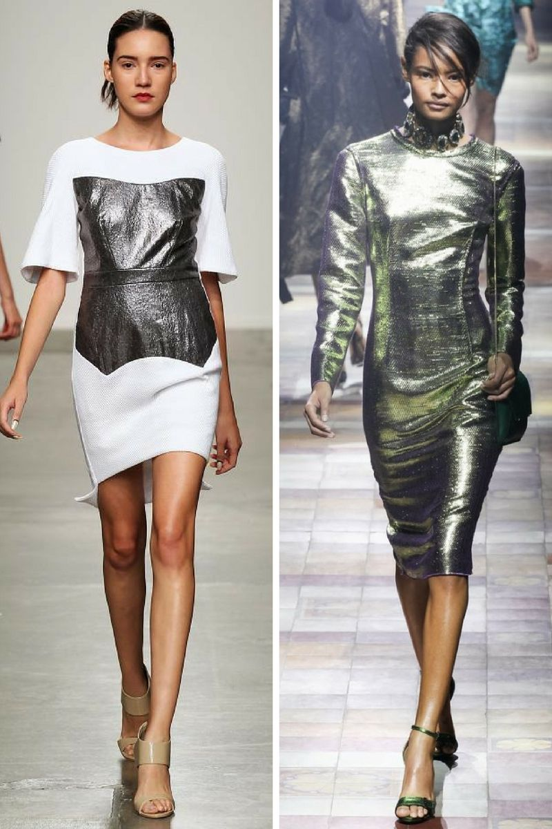Best Metallic Trend Outfit Ideas To Copy 2019