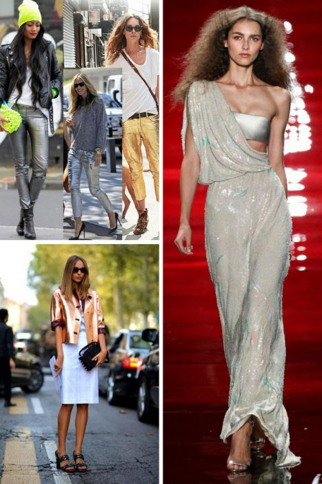 Metallic Trends For Summer 2018 (9)