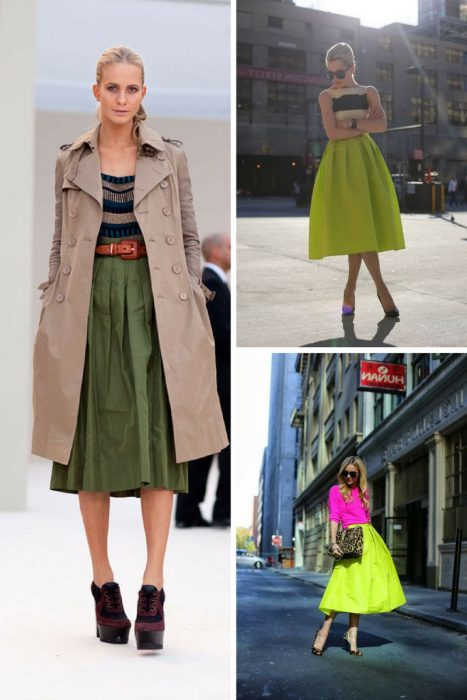 Midi Skirts Are Great To Wear Now 2019