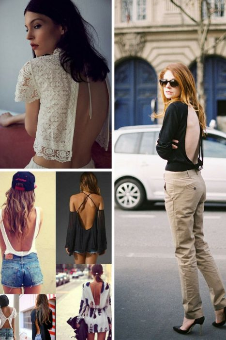 Open Back Fashion Trend For Women 2019