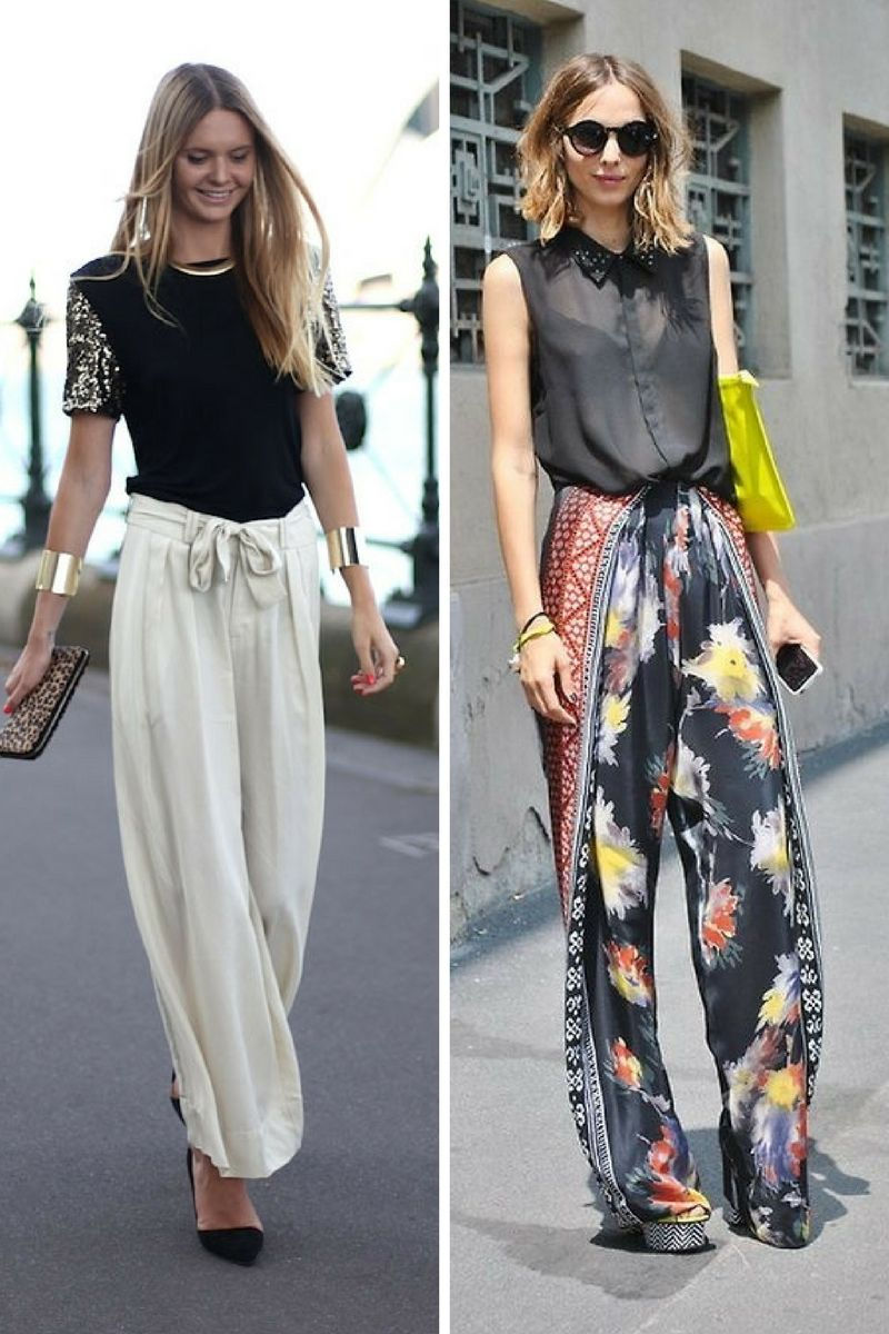 Palazzo Pants For 2018 How Should Women Wear Them In Real Life | OnlyWardrobe.com