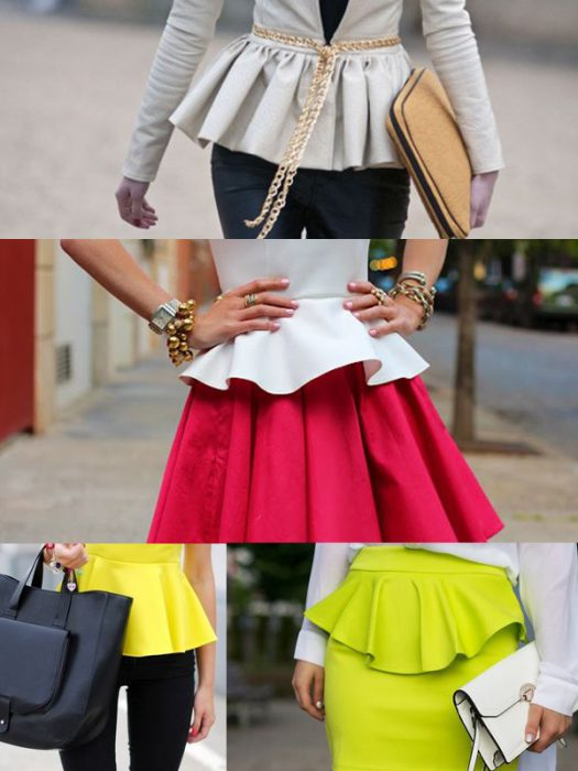 Peplum Fashion Trend 2019