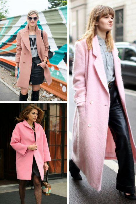 Pink Coats Trend For Women 2018 (3)