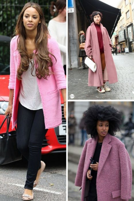 Pink Coats Trend For Women 2018 (4)