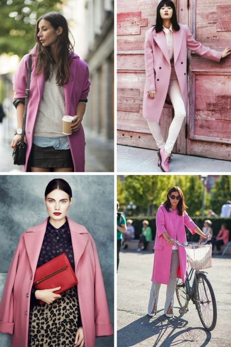 Pink Coats Trend For Women 2018 (5)