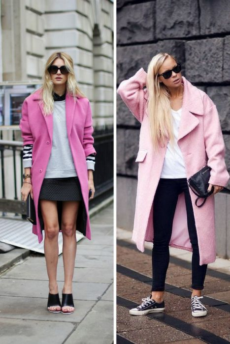 Pink Coats Trend For Women 2018 (6)