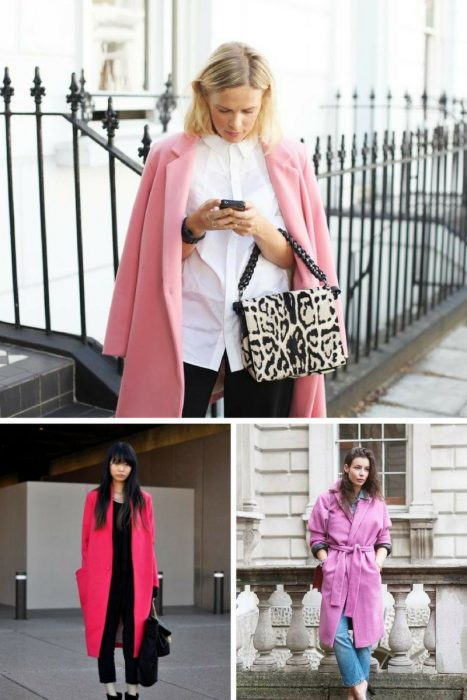 Pink Coats Trend For Women 2018 (7)