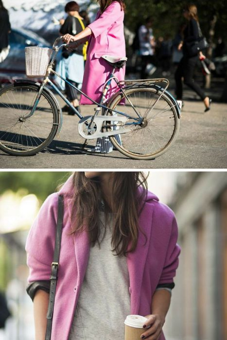 Pink Coats Trend For Women 2018 (8)