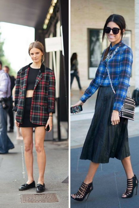 Plaid Trend For Women 2018 (1)