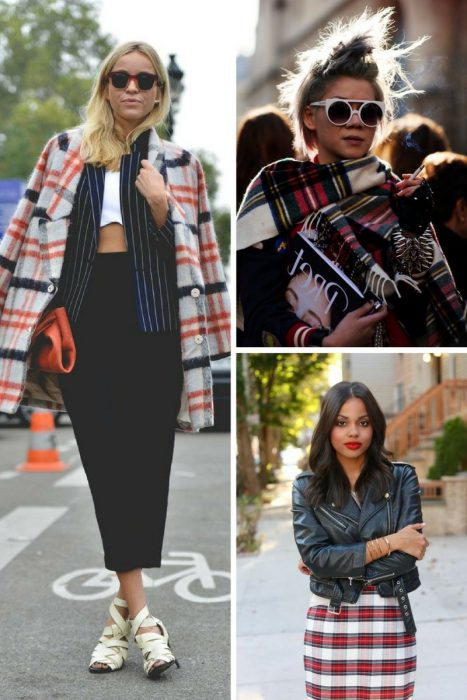 Plaid Trend For Women 2018 (10)