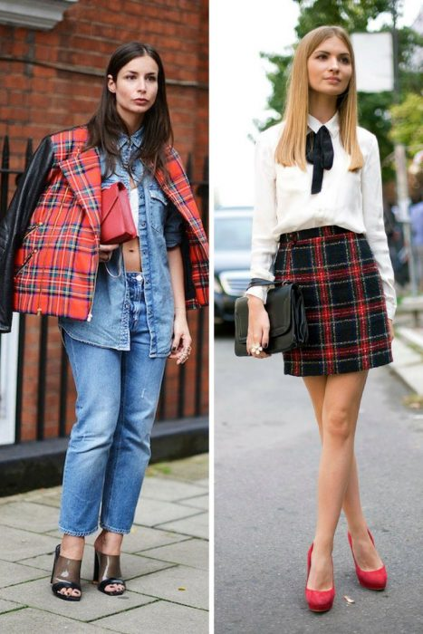 Plaid Trend For Women 2018 (11)