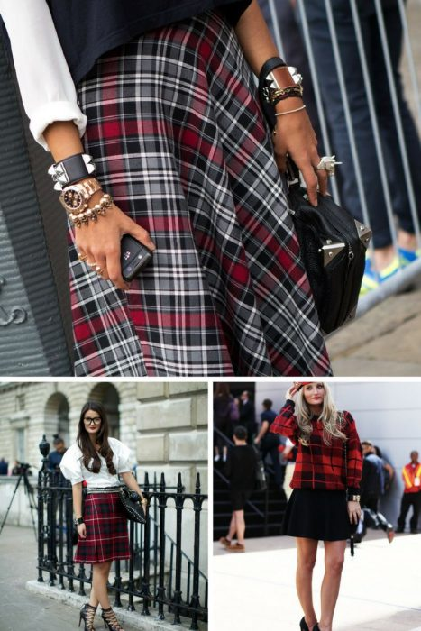 Plaid Trend For Women 2018 (12)