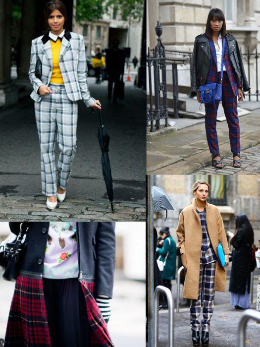 Plaid Trend For Women 2018 (14)