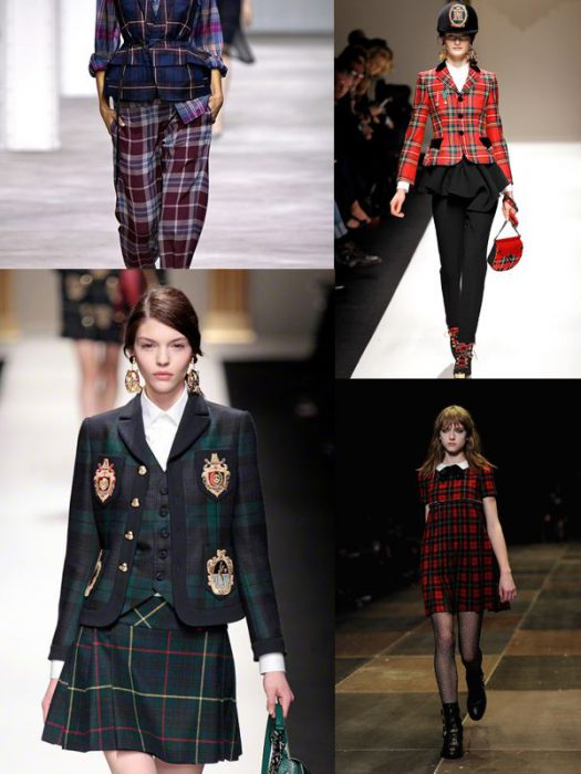 Plaid Trend For Women 2018 (15)