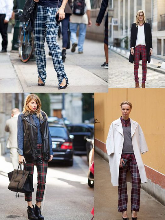 Plaid Trend For Women 2018 (16)