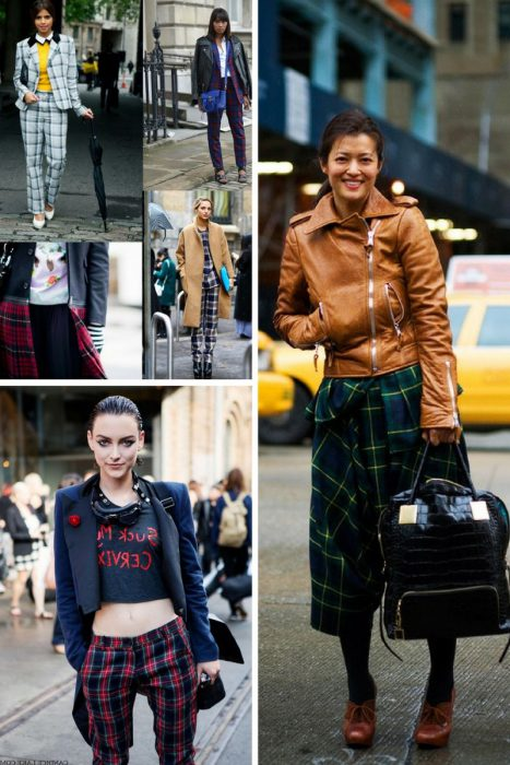 Plaid Trend For Women 2018 (2)
