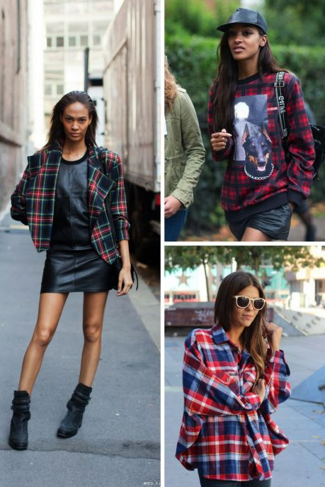 Plaid Trend For Women 2018 (3)