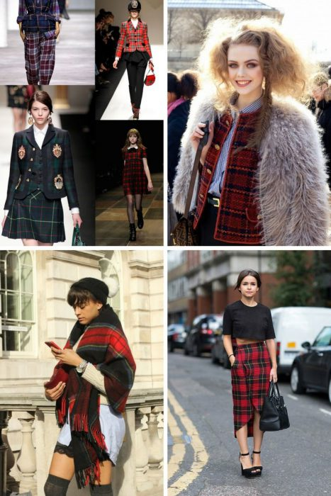 Plaid Trend For Women 2018 (4)
