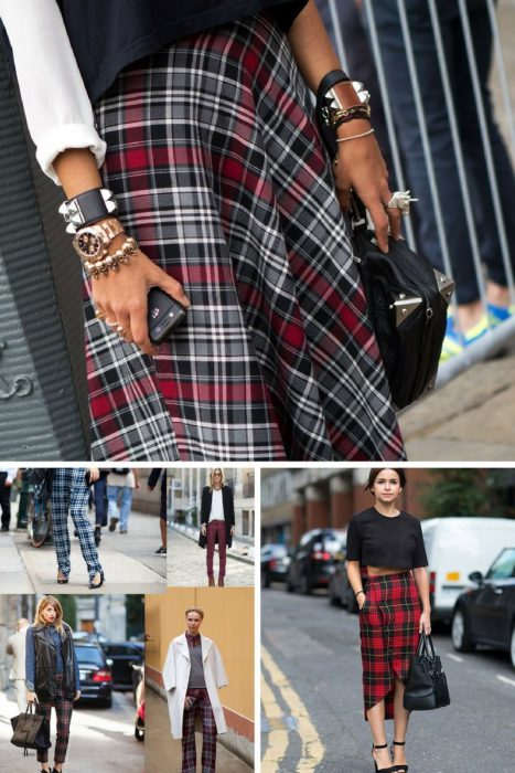 Plaid Trend For Women 2018 (5)
