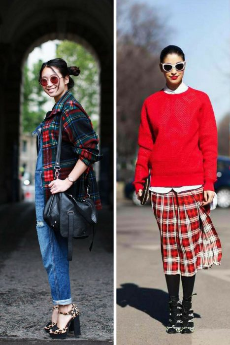 Plaid Trend For Women 2018 (6)