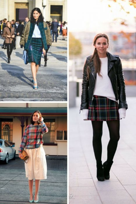 Plaid Trend For Women 2018 (7)