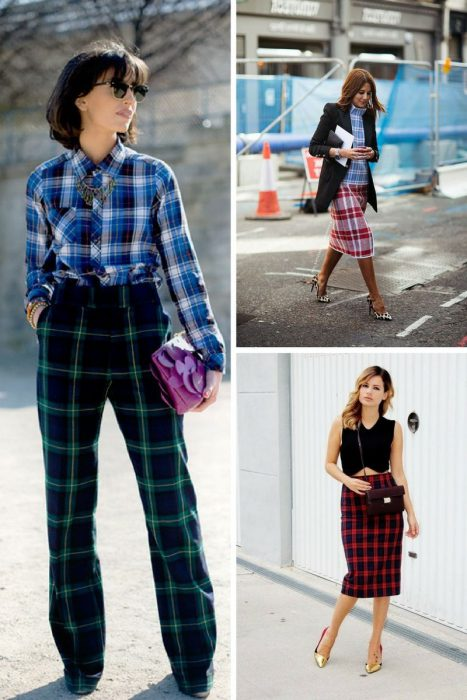 Plaid Trend For Women 2018 (8)