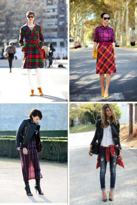 Plaid Trend For Women 2018 (9)