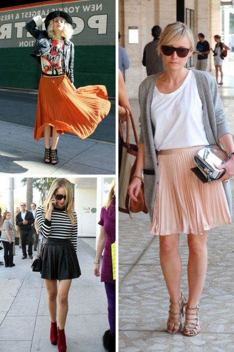 Pleated Skirts Are In Fashion Again 2020