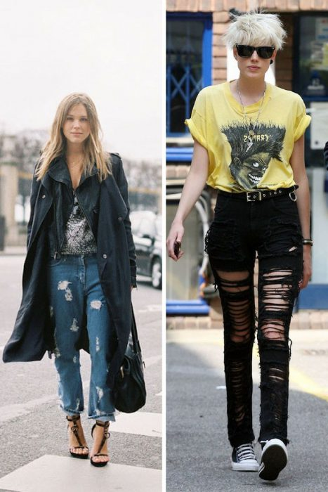 Ripped Jeans Trend For Women 2018 (6)