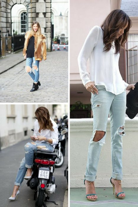 Ripped Jeans Trend For Women 2018 (7)